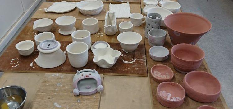 陶芸教室「色付け」をしました。