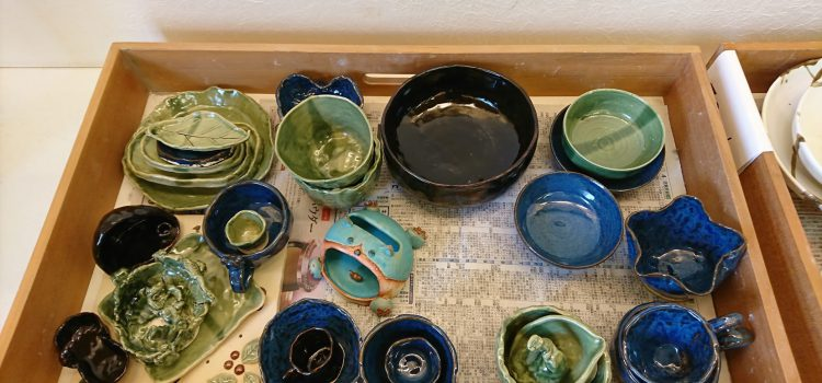 陶芸作品完成しました