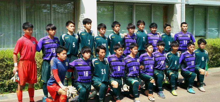 2019年度インターハイ東京西支部予選1回戦報告『PK戦の末、青梅総合に辛勝!(1-1、PK4-3)』