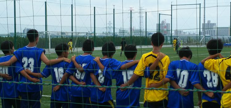 [後援会活動]:第98回全国高校サッカー選手権東京都大会一次予選三回戦